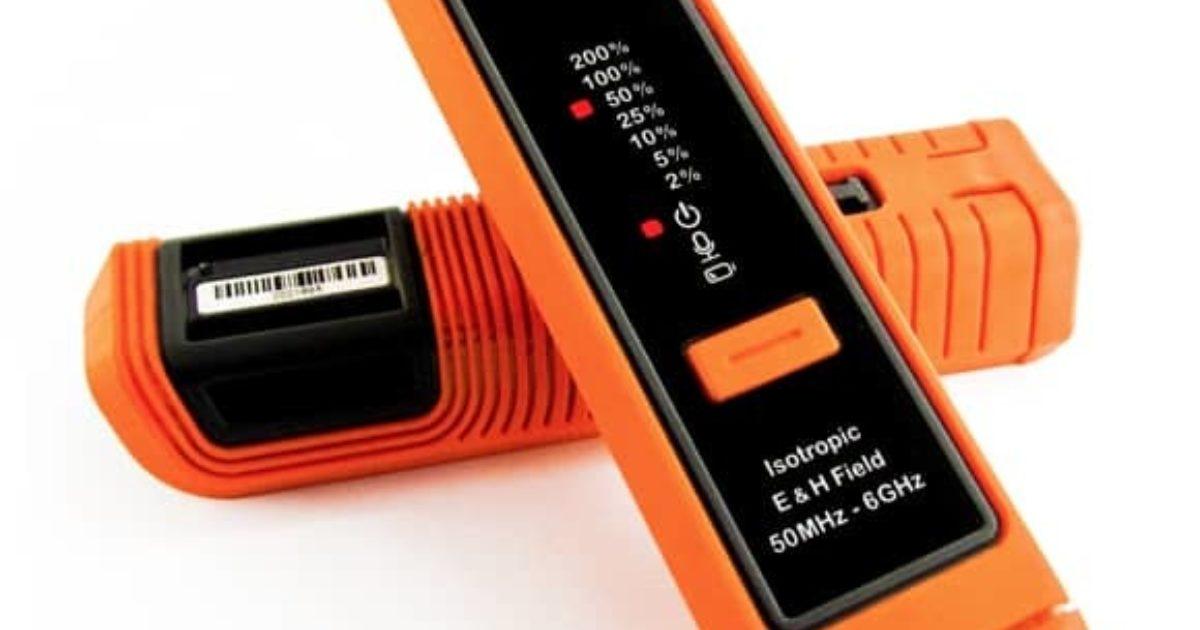 6GHz Field Sense 2.0 Personal E /& H Field Isotropic RF Monitor 50MHz
