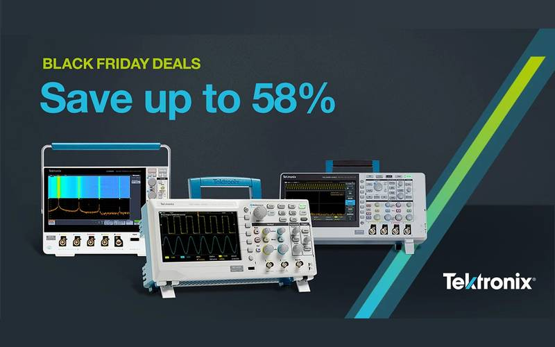 Black Friday Tektronix Offers!