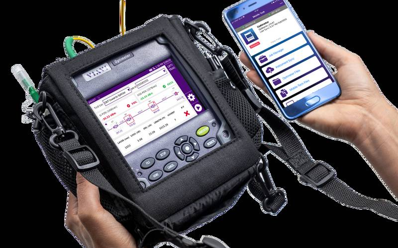 VIAVI Optimeter Optical Fibre Meter Mobile