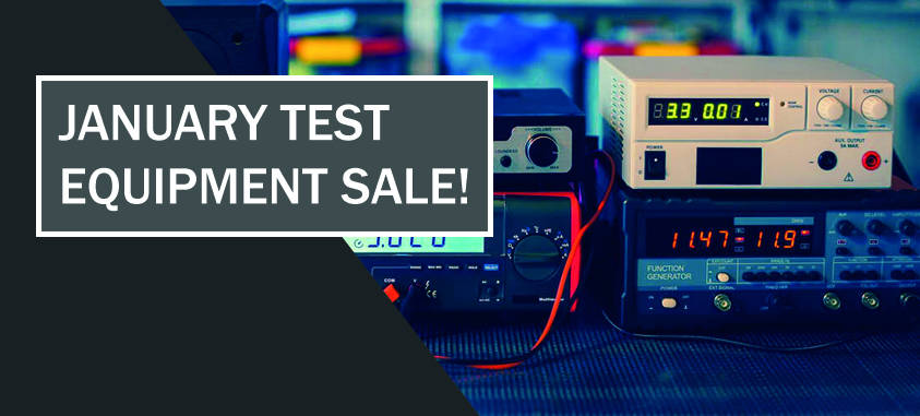 January Test Equipment Sale NEW