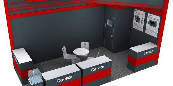 Ceyear in Convergence India 2020 Exhibition