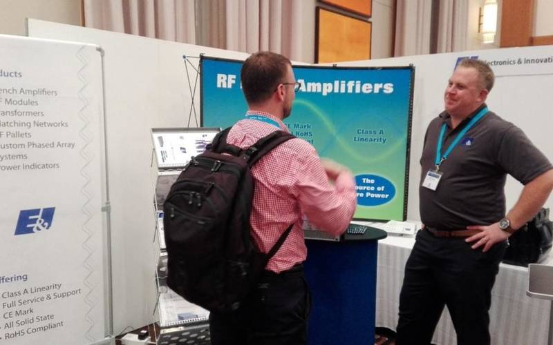 EI Exhibited at the IEEE IUS Conference