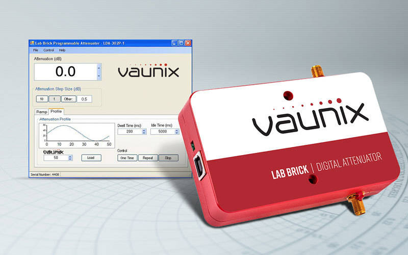 Vaunix launch new wideband USB programmable digital attenuator