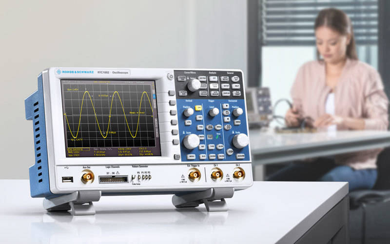 New low-cost oscilloscope from Rohde & Schwarz