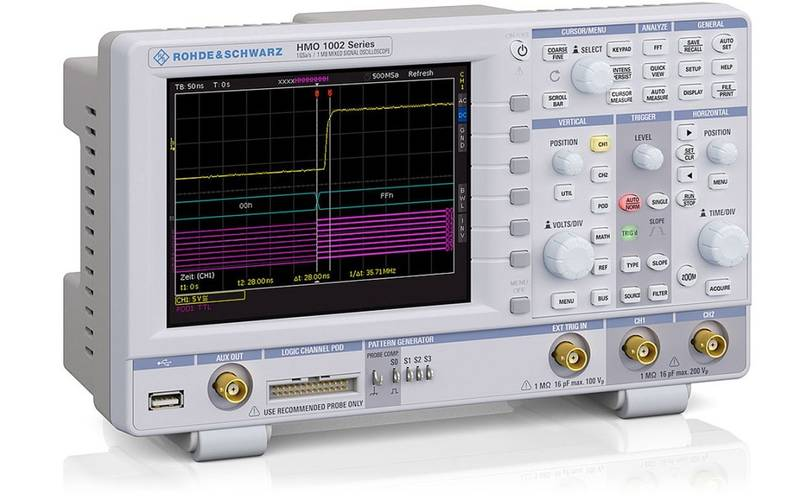 New mixed signal oscilloscope from Rohde & Schwarz