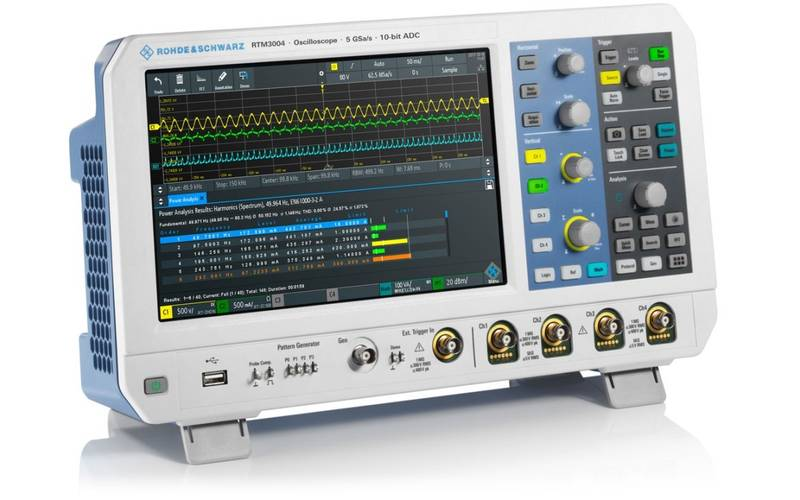 New RTM oscilloscope model from Rohde & Schwarz ideal for education sector