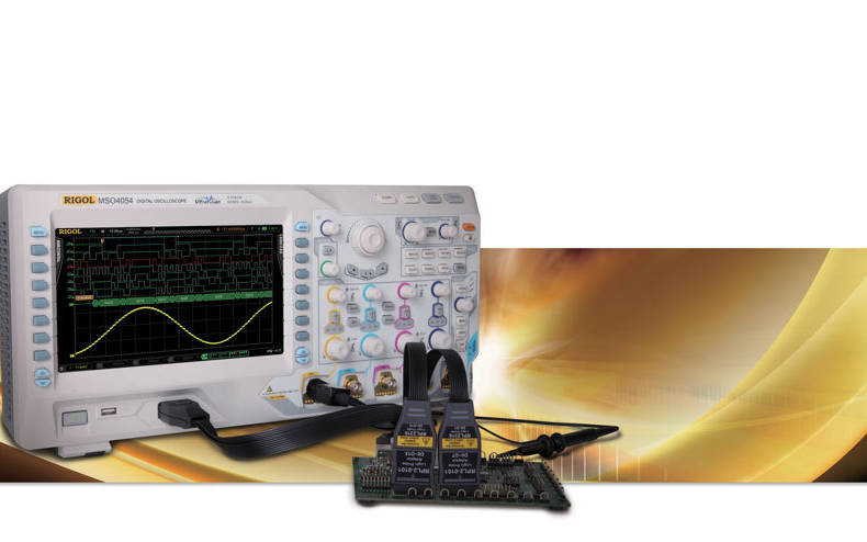 Free options bundle when buying a Rigol DS/MSO4000 Oscilloscope