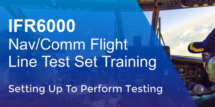 IFR6000 Training Video 2